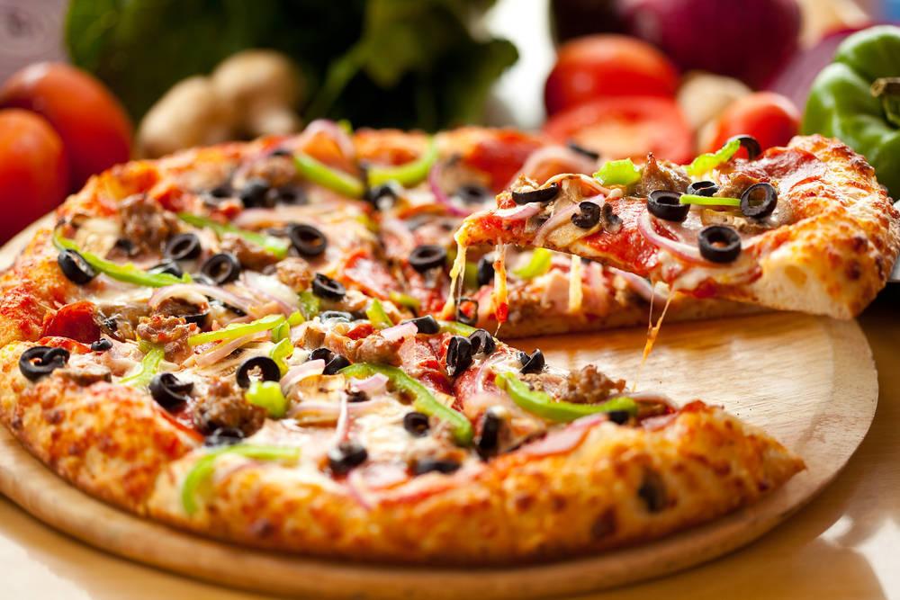 Date un capricho con una buena pizza vegetariana